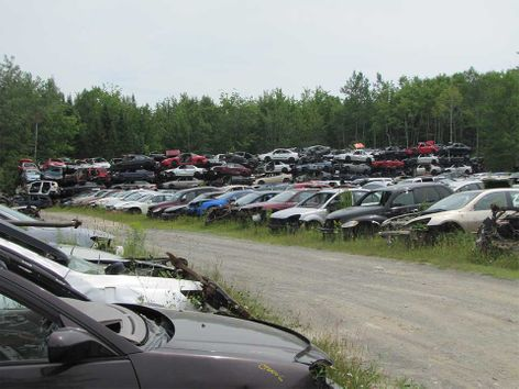auto recycling yard